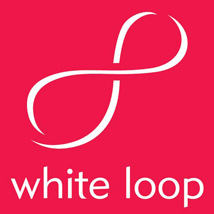 white loop logo